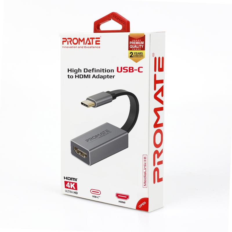 Promate High Definition USB-C to HDMI Adapter MediaLink-H1