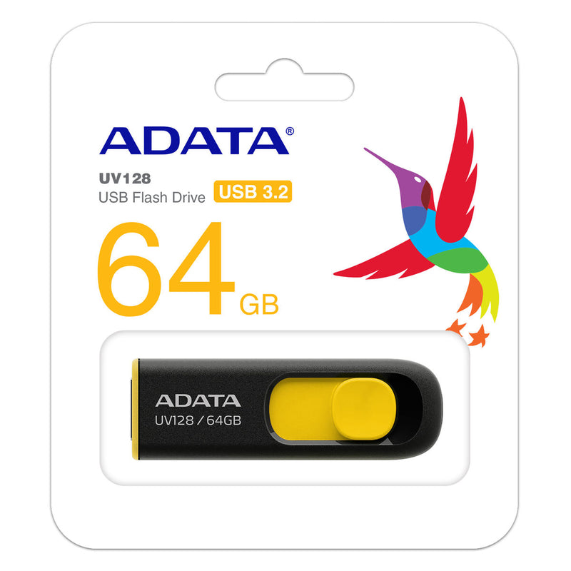 ADATA UV128 USB 3.2 Flash Drive - 64GB