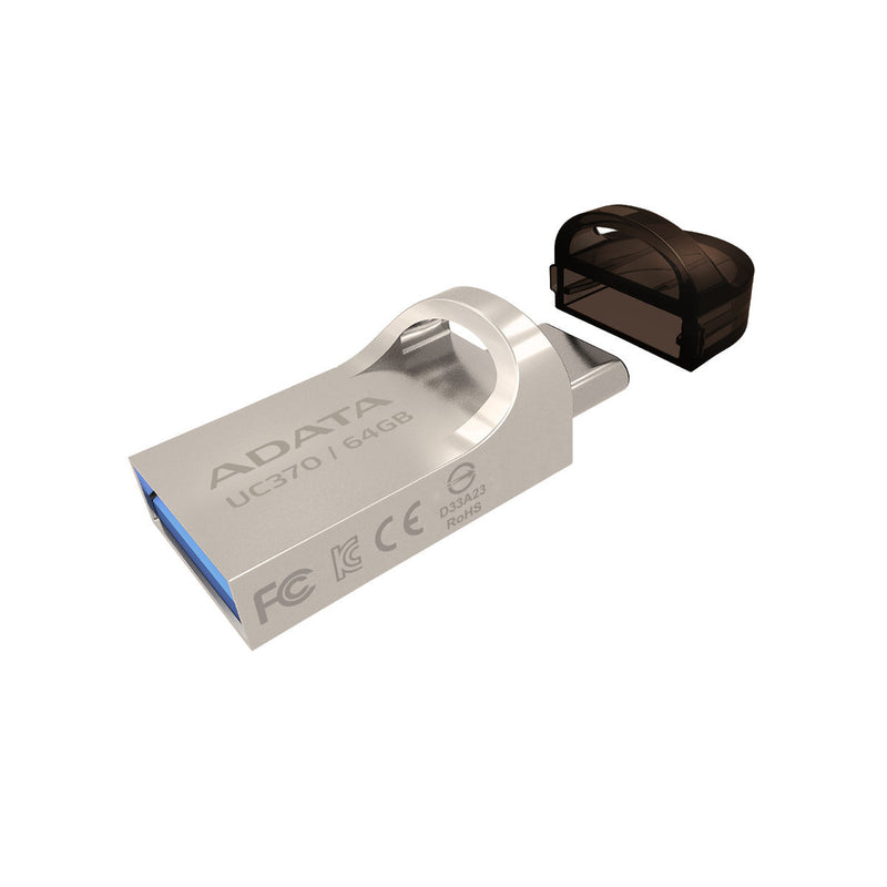 ADATA 64GB UC370 USB-C OTG Flash Drive