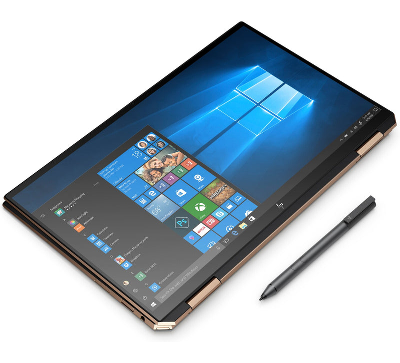 "HP Spectre x360 13t-aw000 MultiTouch - Core i7-1065G7, 16GB RAM, 1TB SSD, Shared, Windows 10, 13.3"" 4K (Nightfall Black)"