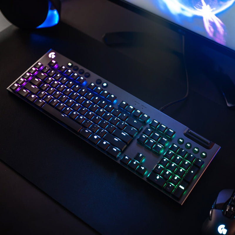 Logitech G815 LIGHTSYNC RGB Mechanical Gaming Keyboard - Tactile