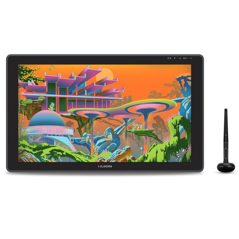 Huion Kamvas 22 PenTech 3.0 & Quantum Dots with Stand - 21.5""