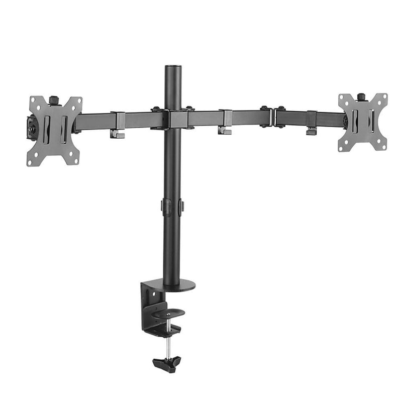 "Lumi Double Joint Steel Monitor Arm for 13""-32"" LED LCD Monitor"