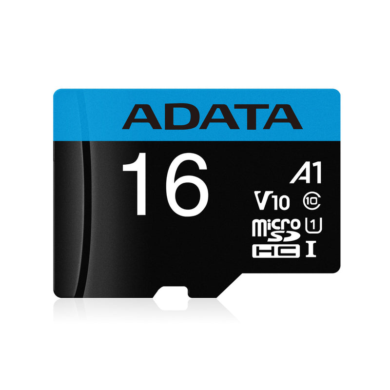 ADATA Premier Memory Card SD 5.1 with Adapter - 16GB - microSDXC UHS-I