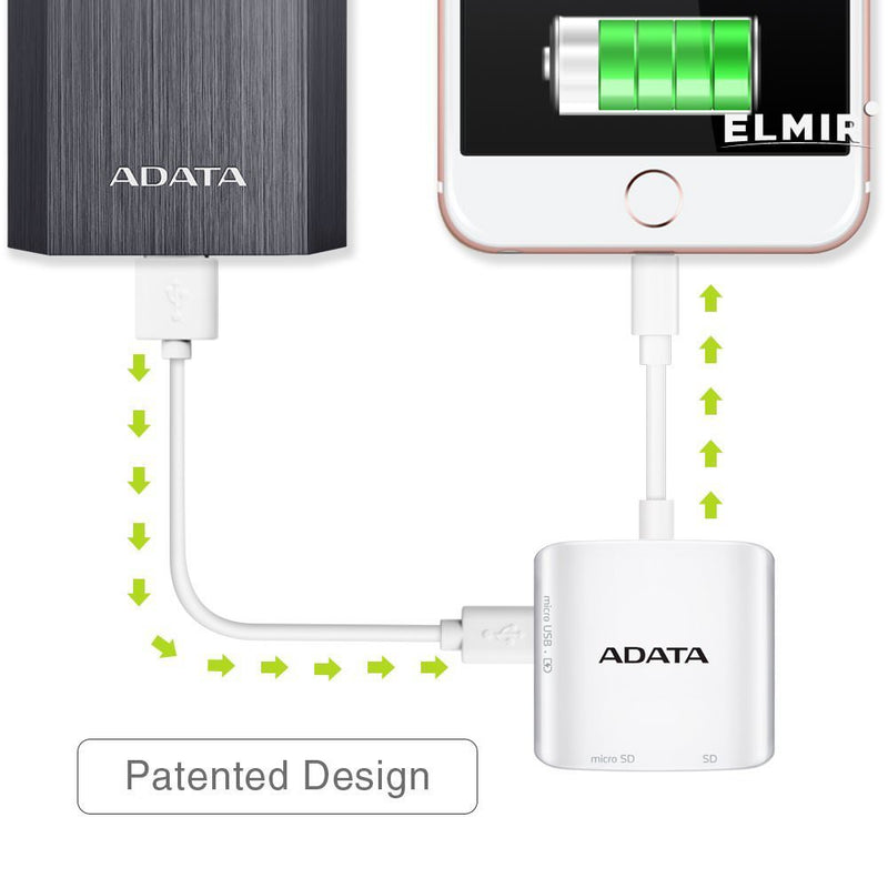 ADATA AI910 Card Reader and Writer for iOS/Android/Windows