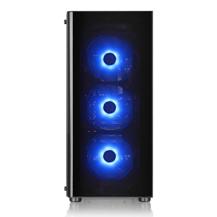 Thermaltake V200 Tempered Glass RGB Edition (3x 12cm 12V RGB + 1x 12cm Rear Fan)