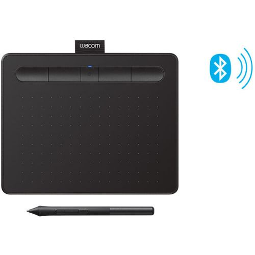 Wacom Intuos Bluetooth Graphic Pen Tablet (Small, Black)