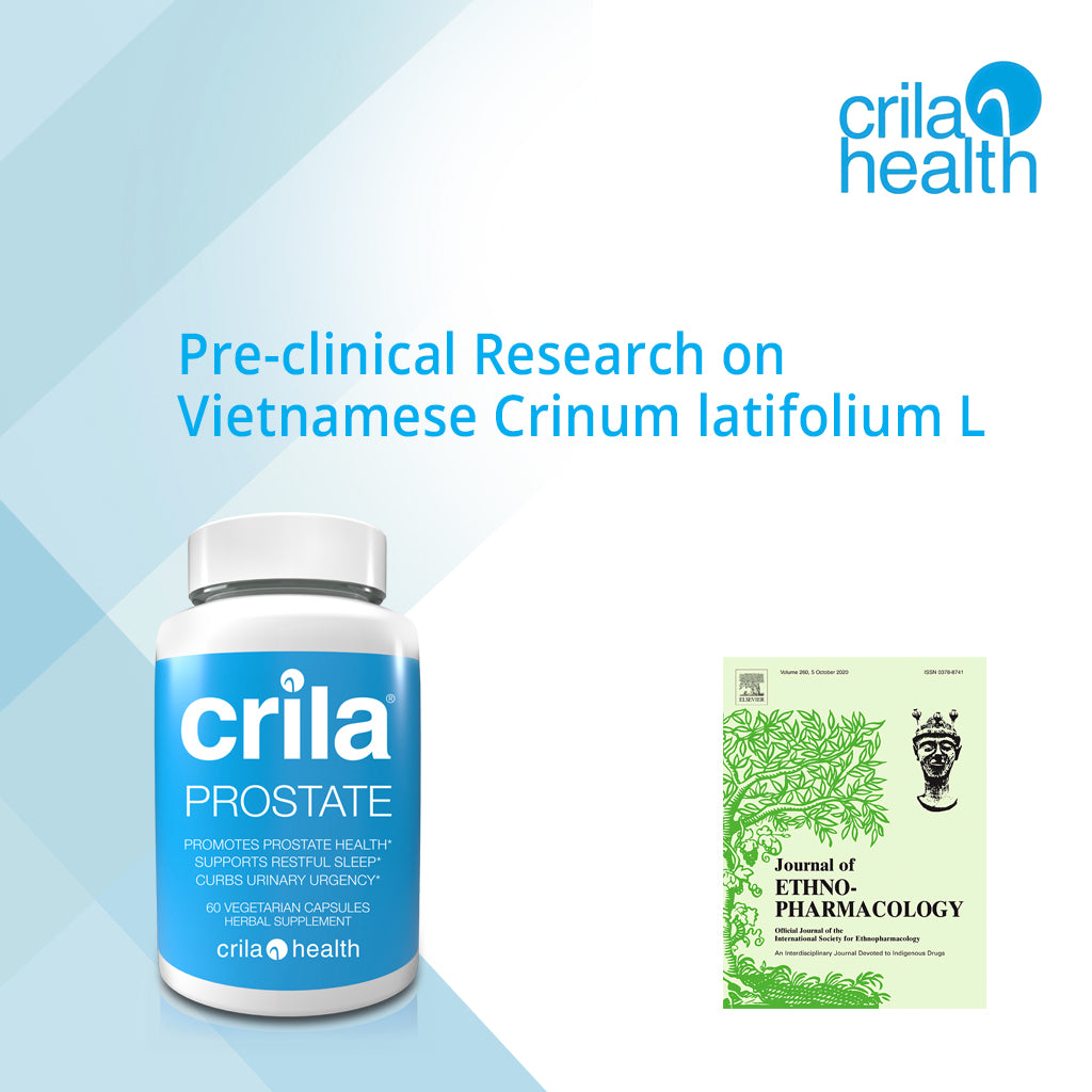 Prostate Health Clinical Research | free usa shipping  | www.crilaforprostate.com