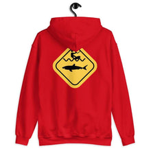 Load image into Gallery viewer, Caution Shark Hoodie - Hoodie - KitesurfingOfficial