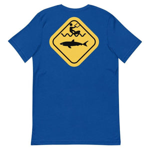 Caution Shark T-Shirt - T-Shirt - KitesurfingOfficial