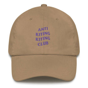 ANTI KITING KITING CLUB Dad hat - Cap - KitesurfingOfficial