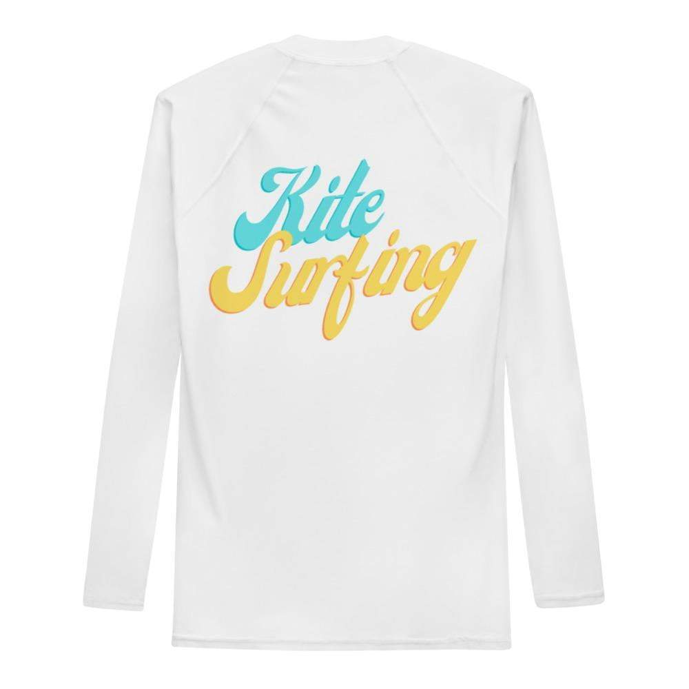 KiteSurfing Retro BeachVibes - Rash Guard Men - KitesurfingOfficial