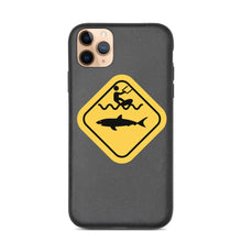 Load image into Gallery viewer, Caution Shark Biodegradable phone case - Case - KitesurfingOfficial