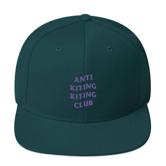 Anti Kiting Kiting Club Snapback Hat - Cap - KitesurfingOfficial