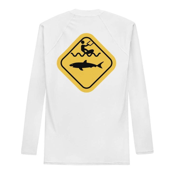 Caution Shark - Rash Guard Men - KitesurfingOfficial