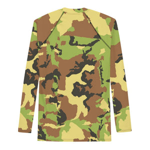 KitesurfingOfficial goes Camouflage - Rash Guard Men - KitesurfingOfficial