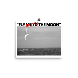 Fly with the moon kiter - Poster - KitesurfingOfficial