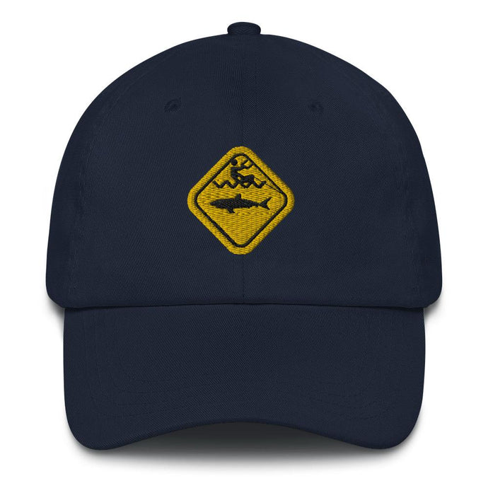 Caution Shark Dad hat - Cap - KitesurfingOfficial