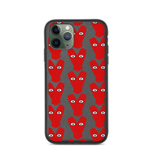 Load image into Gallery viewer, Red Kiteboard Heart pattern Biodegradable phone case - Case - KitesurfingOfficial