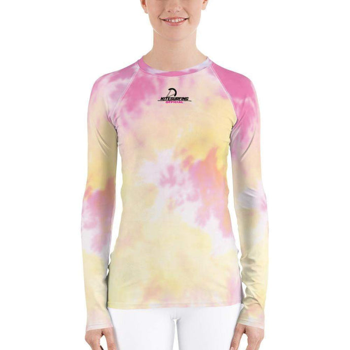 Color Up! KitesurfingOfficial - Rash Guard Women - KitesurfingOfficial