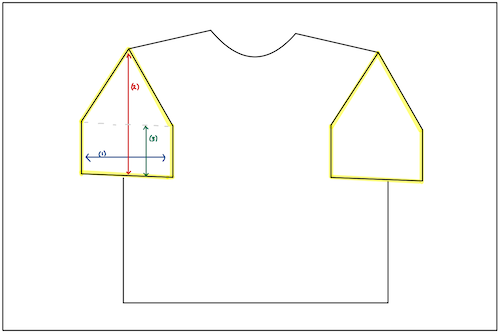 X-Large Double Matted Jersey Display Frame - sfDisplay.com - How to Instructions Sleeve Inserts