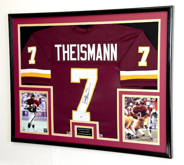X-Large Double Matted Jersey Display Frame - sfDisplay.com - How to Instructions Final Product