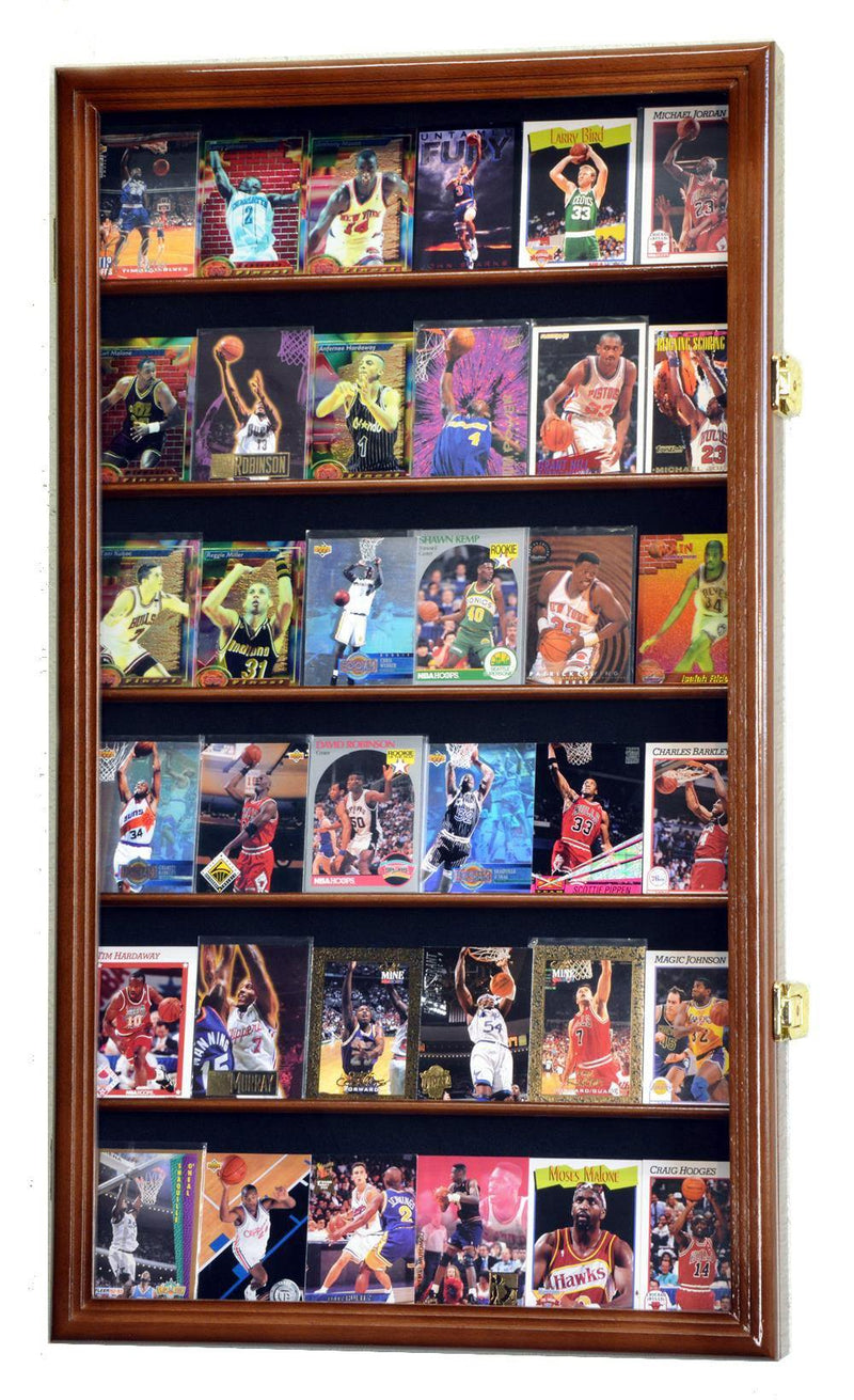 36 Sport/Collectible Trading Card Display Case Cabinet - sfDisplay.com