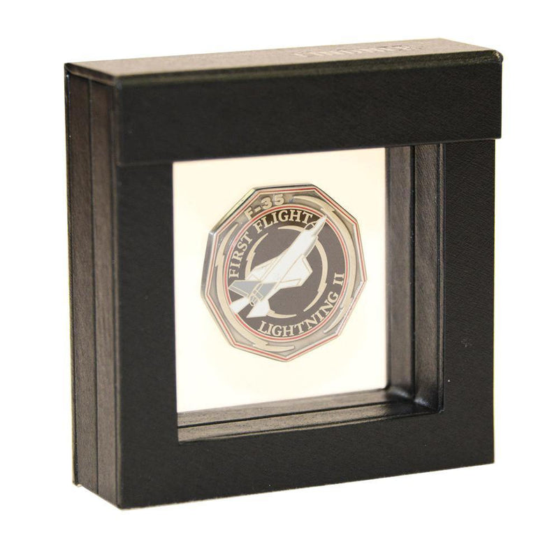 3D Coin / Chip Frame 3x3x1 - sfDisplay.com