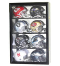 8 Mini Helmet Display Case Cabinet (Mirror Back)