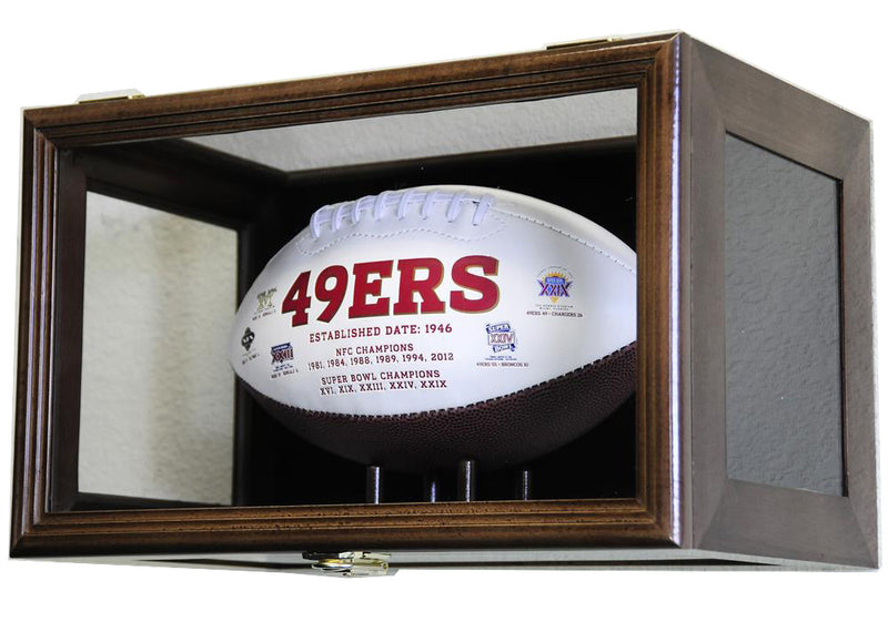 Football Display Case (Wall Mounting/Free Standing)