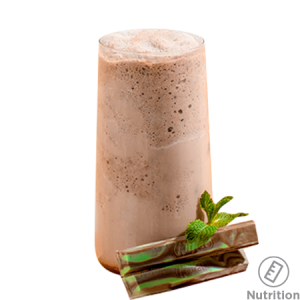 Mint Chocolate Chiller, Made with Kit Kat