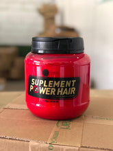 Load image into Gallery viewer, Supplement power Hair mask 1.7 kg, Brazilian keratin hair treatment mask hair care. power smooth, magical repair damage hair, root repair, restore soft, shiny and healthy hair.