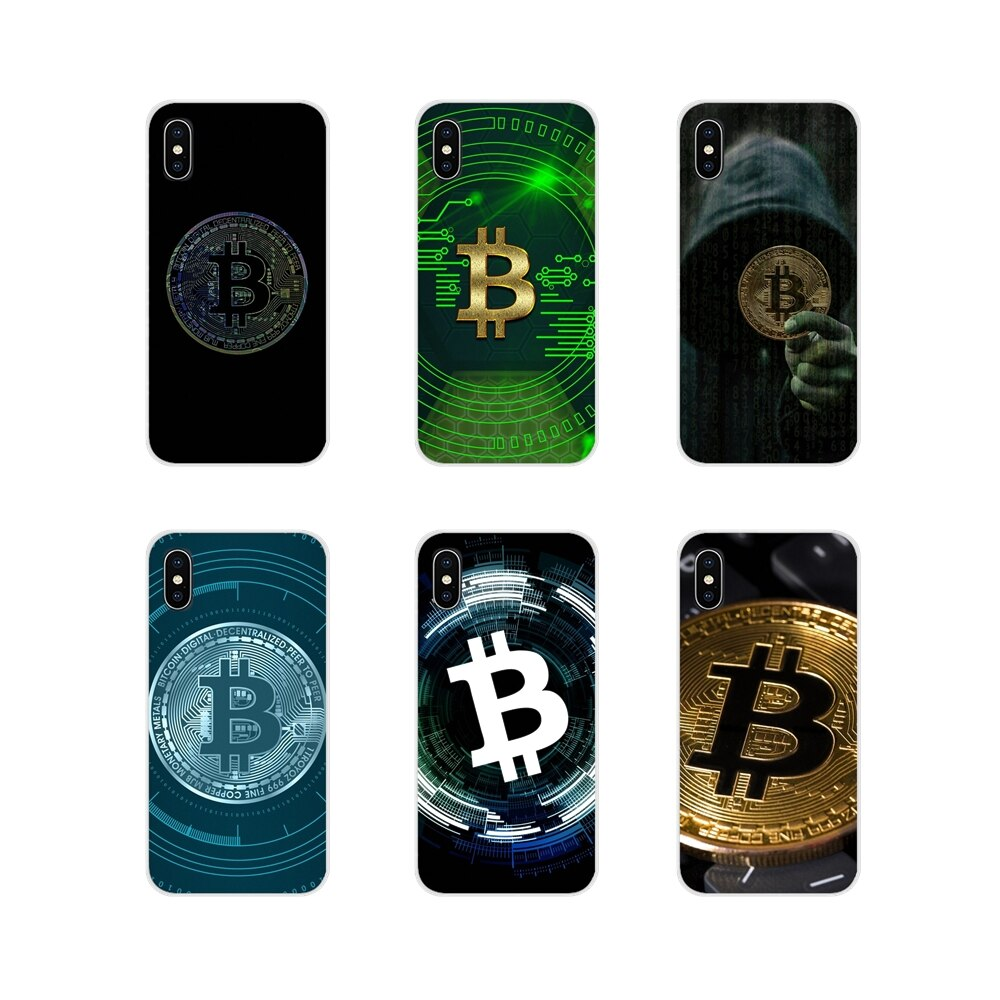 BITCOIN coins For Samsung Galaxy A3 A5 A7 A9 A8 Star A6 Plus 2018 2015 2016 2017 Accessories Phone Cases Covers