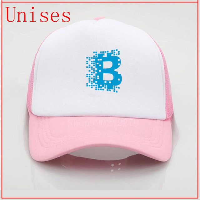 Bitcoin Crypto currency Blockchain Gorras Cap trucker hat hats for men Beach holiday Baseball Cap Hat Strapback fedora hat women
