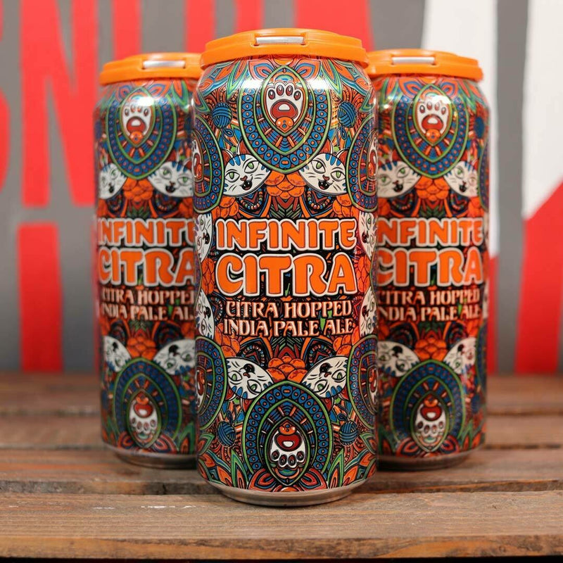Pipeworks Infinite Citra IPA 16 FL. OZ. 4PK Cans