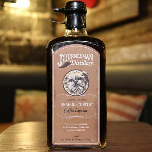 Journeyman Snaggletooth Coffee Liqueur 750ml.