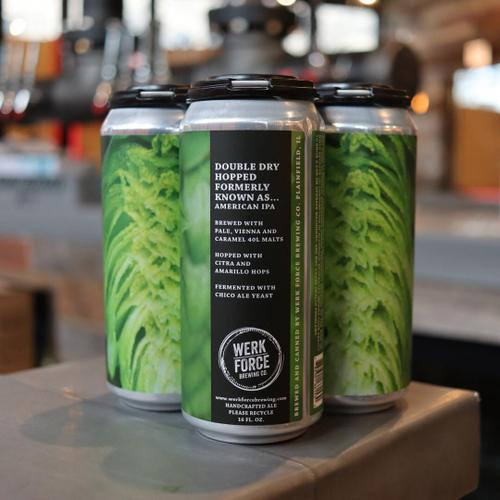 Werk Force Formerly Known As DDH IPA 16 FL. OZ. 4PK Cans