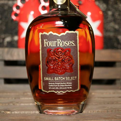 Four Roses Small Batch Select Kentucky Straight Bourbon Whiskey 750ml.
