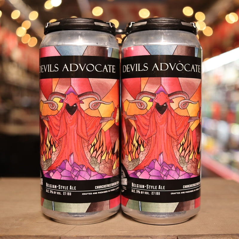 Church Street Devil's Advocate Belgian 16 FL. OZ. 4PK Cans