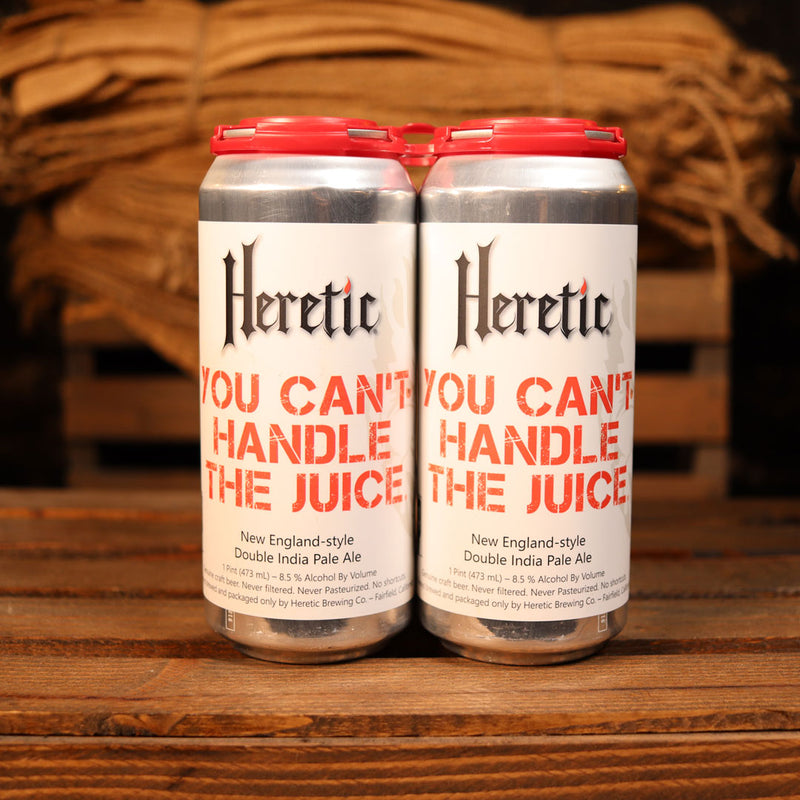 Heretic You Can't Handle The Juice NEIPA 16 FL. OZ. 4PK Cans