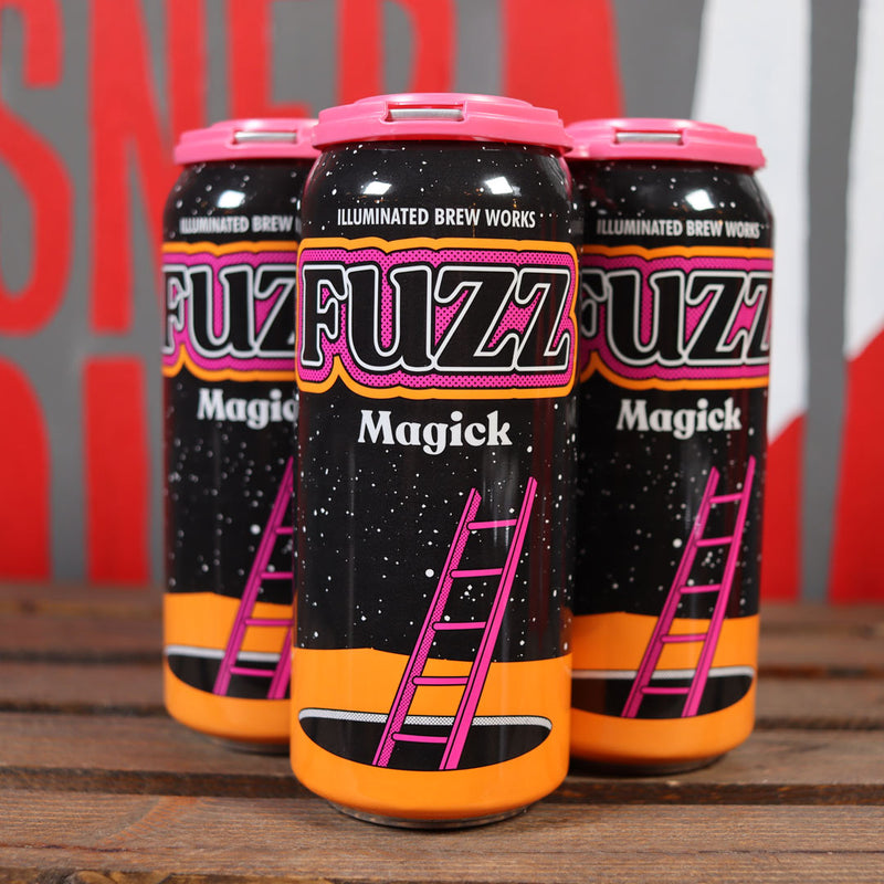 Illuminated Fuzz Magick DDH DIPA 16 FL. OZ. 4PK Cans
