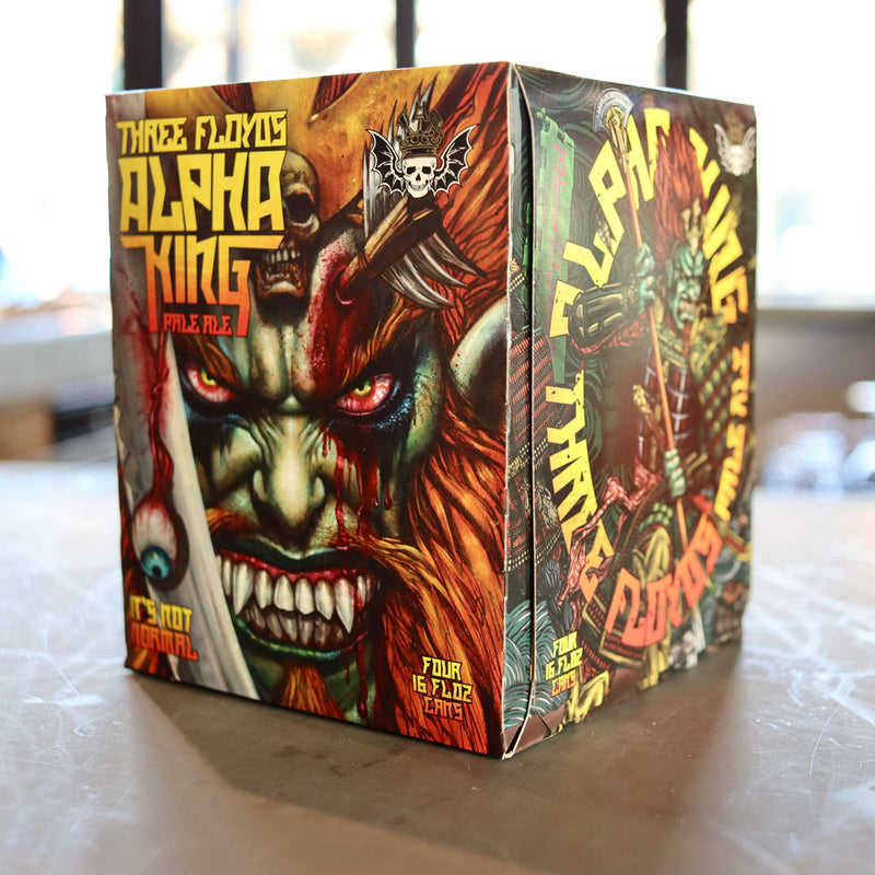 Three Floyds Alpha King Pale Ale 16 FL. OZ. 4PK Cans
