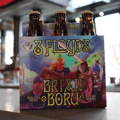 Three Floyds Brian Boru Irish-Style Red Ale 12 FL. OZ. 6PK