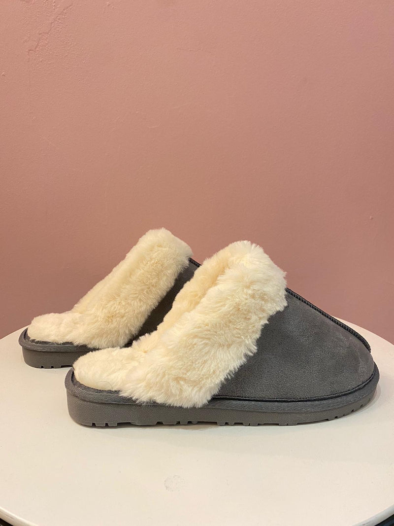 Sansa Fur Slippers
