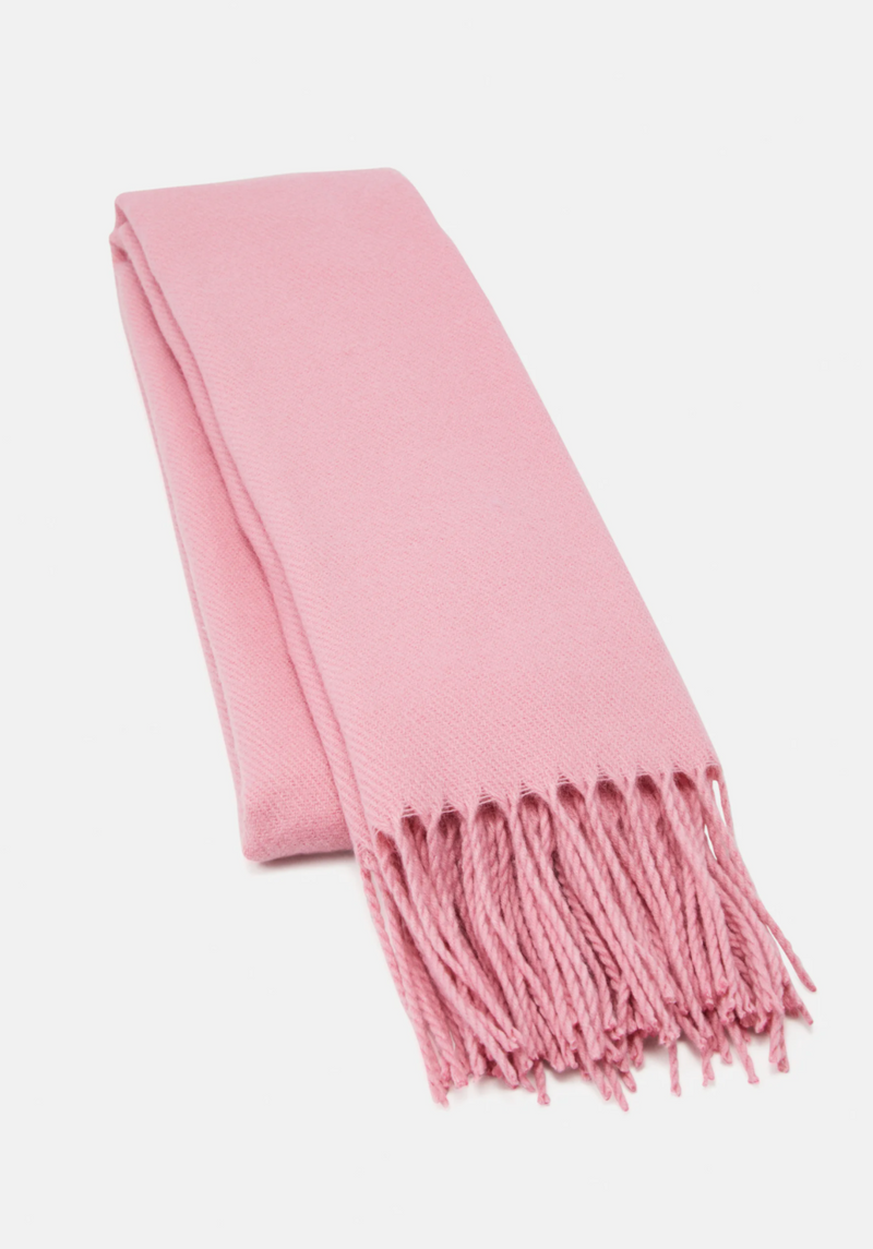 Solid Long Scarf.