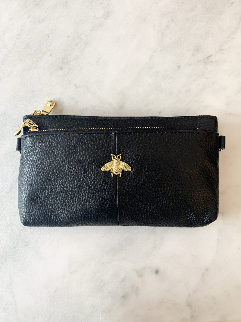 Leather Bee Purse-KSS01