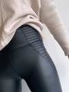 Biker Leather Look Leggings