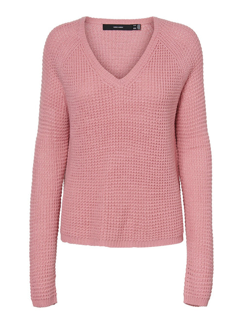 Leanna V Neck Jumper .