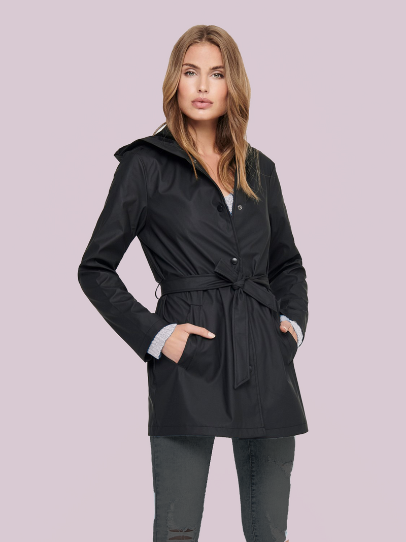 Shelby Belted Rainmac Coat