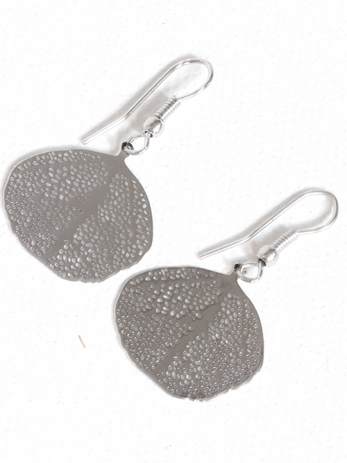 Gina Filigree Leaf Earrings
